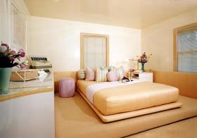 卧室清新榻榻米装修设计