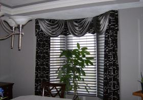 现代雅致窗帘设计美图