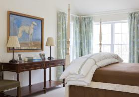现代素雅窗帘装修设计