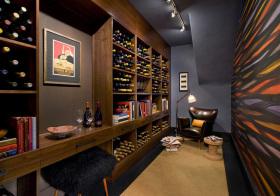 现代实木酒柜设计美图