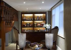 美式复古酒柜装修美图