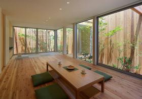 自然原木榻榻米装修美图