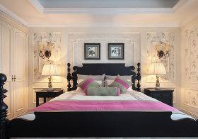 古典北欧卧室背景墙欣赏