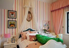 温馨简欧儿童房设计