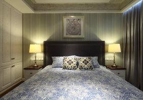 简约现代卧室背景墙欣赏