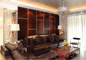 新古典客厅沙发背景墙设计