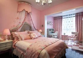 粉色浪漫欧式儿童房欣赏