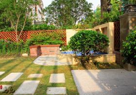 葱郁美式花园欣赏