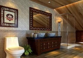 新古典浴室柜装修设计