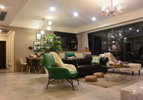 时尚宜家风格客厅装修设计