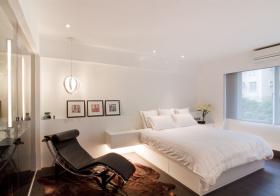 现代简约风格卧室装修效果
