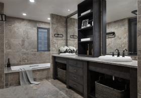 质感现代风格卫生间装修图片