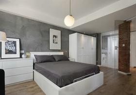 简约北欧风格卧室装修效果图片
