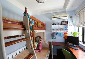 高低床可爱现代儿童房设计