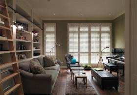 素雅简约风格客厅装修设计