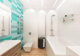 清新简约风格卫生间装修设计