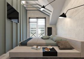 干练个性现代风格卧室装修设计