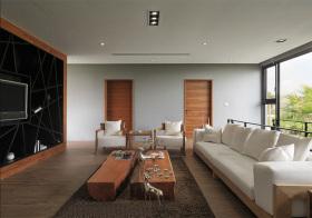 简约现代风格客厅装修效果