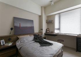 实用简约风格卧室装修图片