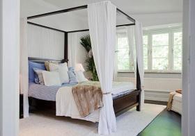 舒适东南亚风格卧室装修设计
