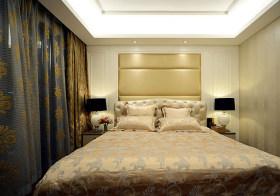 富丽欧式卧室背景墙面板设计