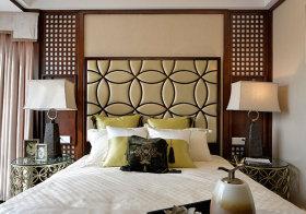 创意混搭卧室背景墙设计