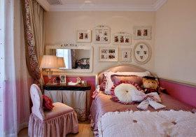 粉色温馨欧式儿童房欣赏