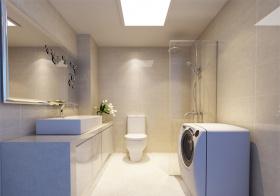 极简现代风格卫生间装修效果