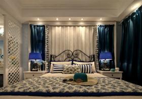 优雅地中海风格卧室装修设计