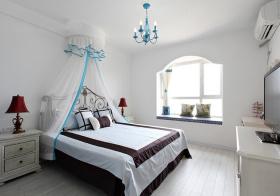清新简欧风格卧室装修效果图