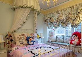 公主风田园儿童房欣赏