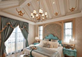 甜美欧式阁楼装修设计