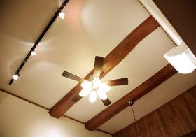 复古美式吊顶装修设计
