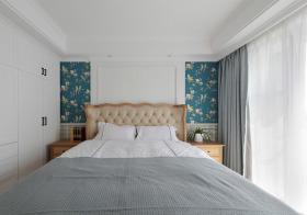花朵壁纸宜家卧室背景墙欣赏
