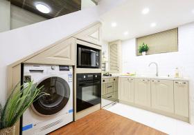 实用简约风格厨房装修效果图片