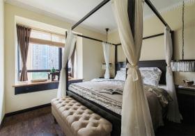 浪漫简欧风格卧室装修设计