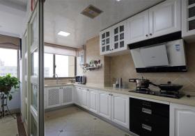 实用简约风格厨房装修效果
