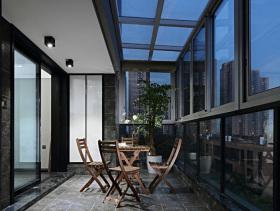 舒适现代风格阳台装修设计