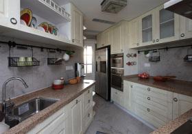 个性美式风格厨房装修设计