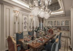 奢华欧式风格餐厅装修设计