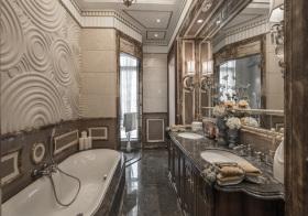 奢华欧式风格卫生间装修设计