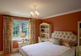 卧室甜美窗帘美图