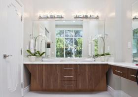 创意简约浴室柜设计