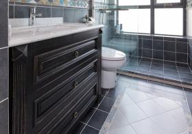 古典美式浴室柜美图
