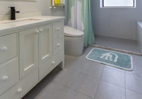 温馨简约浴室柜设计