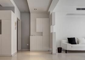 现代白色隔断墙美图欣赏