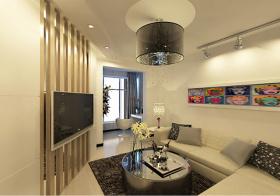 木质电视墙隔断设计