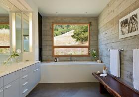 卫生间清新飘窗装修设计
