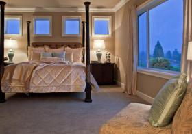 卧室方形飘窗装修美图