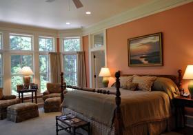 美式卧室飘窗设计美图